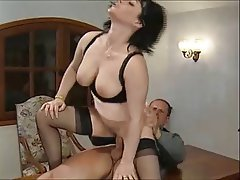 Anal Brunette French MILF