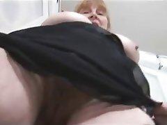 Big Boobs Blonde Granny Hairy