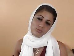 Arab Babe Piercing