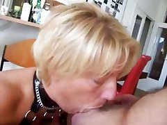 Ass Licking BDSM Blonde Mature