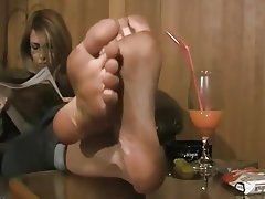 Amateur Close Up Foot Fetish