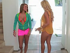 Ass Licking Babe Blonde Coed