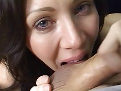 Blowjob Facial POV MILF