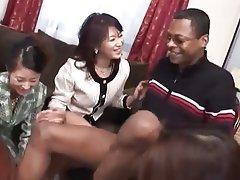 Interracial Japanese MILF