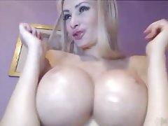Big Boobs Blonde Nipples Webcam