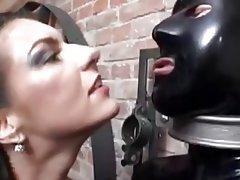 Anal BDSM Latex Strapon