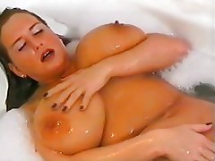 BBW Big Boobs Massage Shower