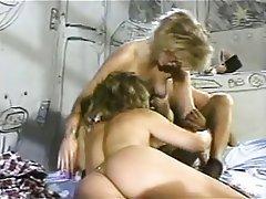 Lesbian Pornstar Threesome Vintage