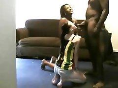 Amateur Blowjob Interracial Threesome