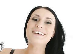 Babe Big Tits Blowjob Casting Ebony