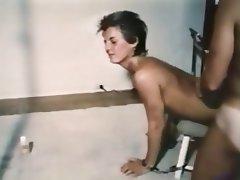 Hairy Pornstar Threesome Vintage