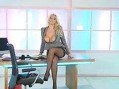 Babe Blonde British Pornstar