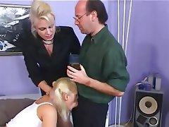 Babysitter MILF Threesome
