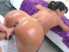 Big Ass Brunette Doggystyle Fucking