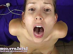 Amateur Brunette Masturbation POV