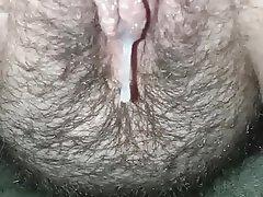 BBW Close Up Creampie Cumshot Hairy
