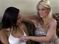 Blowjob Facial Blonde Brunette Group Sex