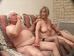 Femdom Blowjob French Threesome