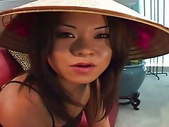 Anal Asian Blowjob Brunette Interracial